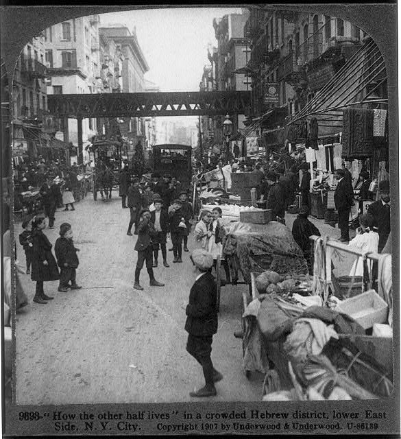 Lower East Side, early 1900s