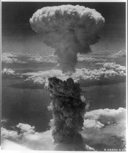 Nagasaki, under atomic attack